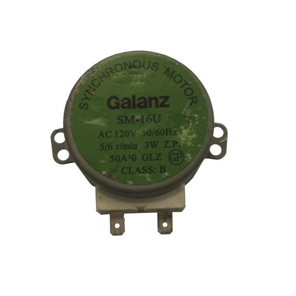 Motor Galanz Prato Microondas Brastemp Consul Philco 110v Sm-16v
